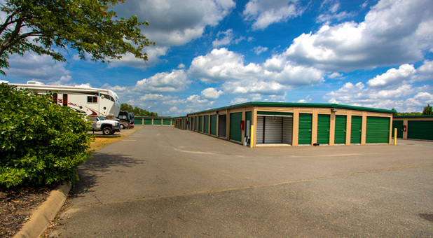 units and RV parking at Falmouth Self Storage