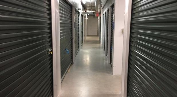 Clean inside units at North Charlottesville Self Storage