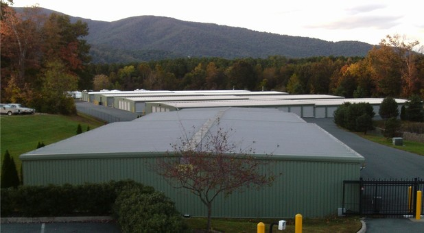 Secure, gated facility Charlottesville Self Storage at Crozet