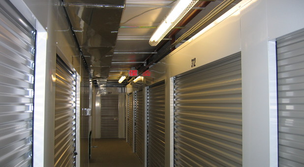 inside units at Charlottesville Self Storage at Crozet