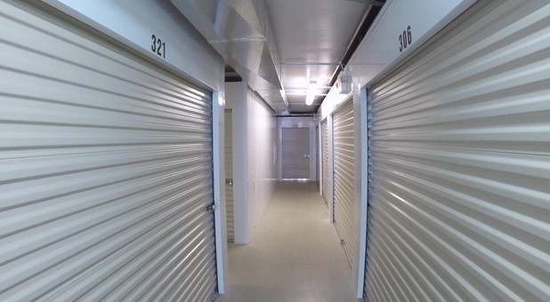 Inside units at Culpeper Self Storage