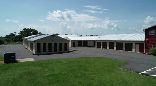 Drive up units at Culpeper Self Storage