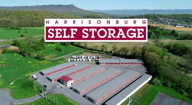 Aerial pic Harrisonburg Self Storage