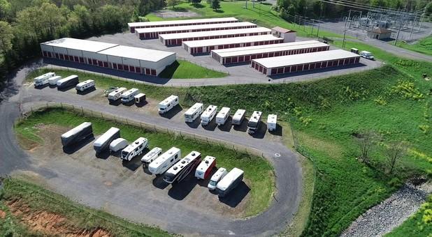 RV parking at Harrisonburg Self Storage