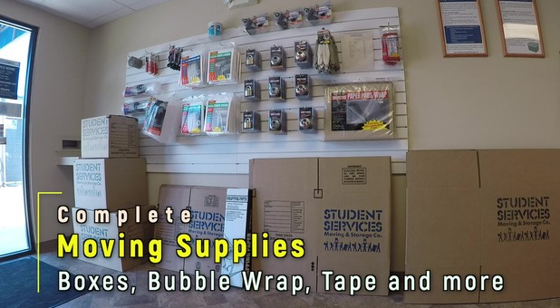 Packing and moving supplies at Harrisonburg Self Storage