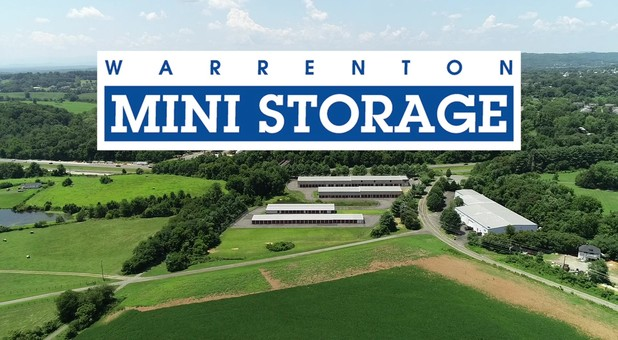Aerial of Warrenton Mini Storage