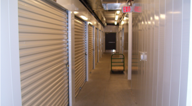 Clean indoor units at Charlottesville Self Storage