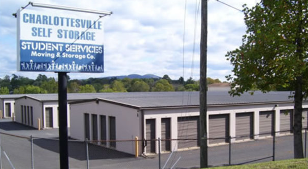 Variety of unit sizes at Charlottesville Self Storage