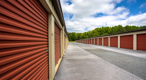 Outdoor storage units Salisbury Route 50 Self Storage