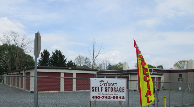 Units and specials at Delmar Self Storage
