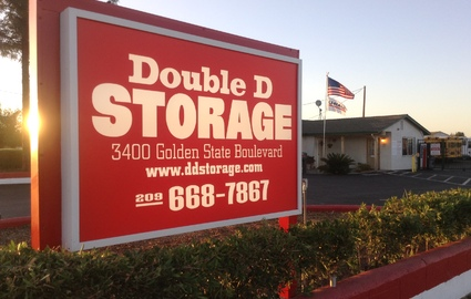Double D Storage Facility Sign
