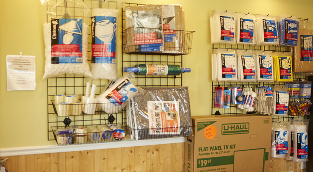 Packing and Storage Supplies Available for Purchase in the Office