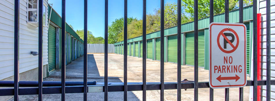 Fenced & Gated for Your Protection