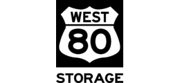 80 West Self Storage logo