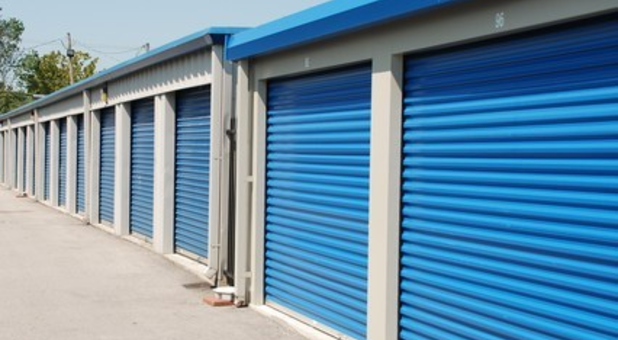 Convenient ground floor storage units with drive up access