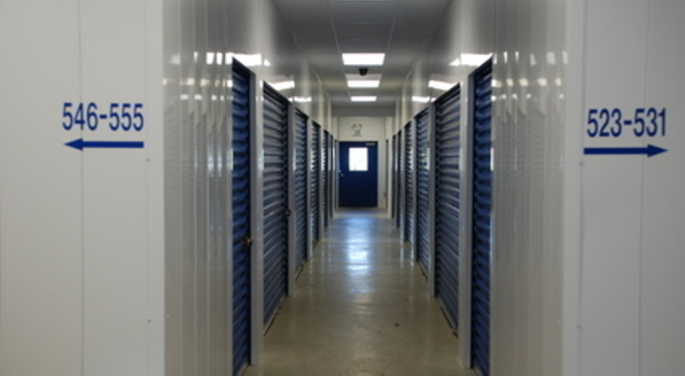 Our indoor storage units are second to none