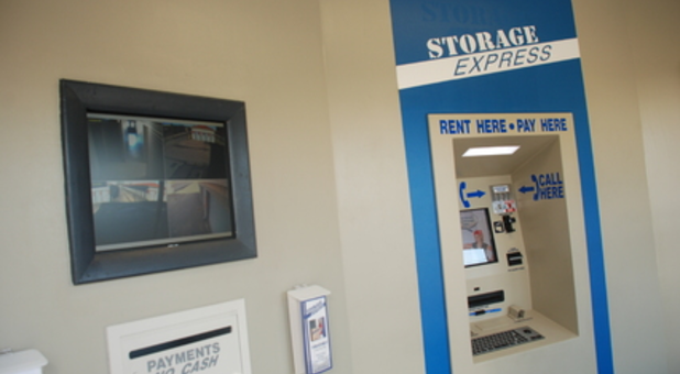 Pay your bills or rent a storage unit at any time with our kiosk