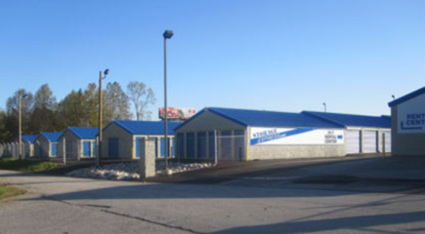 A clean and modern Bedford storage facility