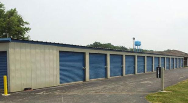 Ground level mini storage