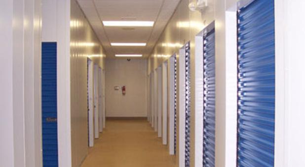 Interior, temperature-controlled units
