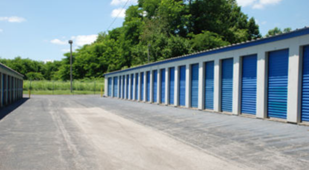 Convenient outdoor storage units