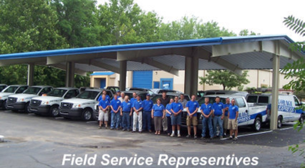 Field service representatives at Storage Express