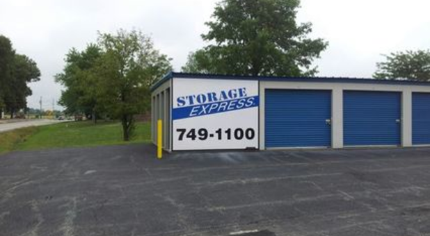 Self Storage Facility Sign And Buildings In Oakland City, IN