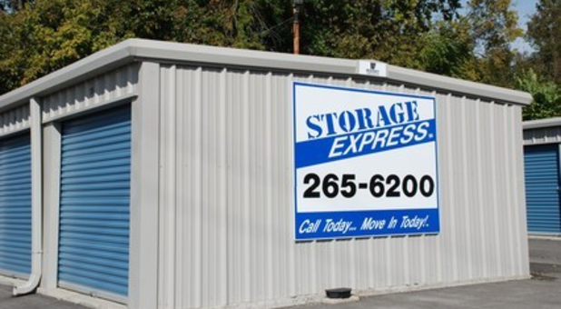 Storage Express Self Storage Building And Sign