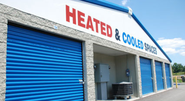 Heated and cooled storage units available