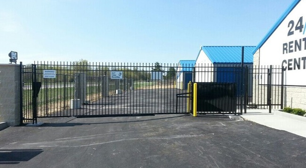 Secure electronic gate access