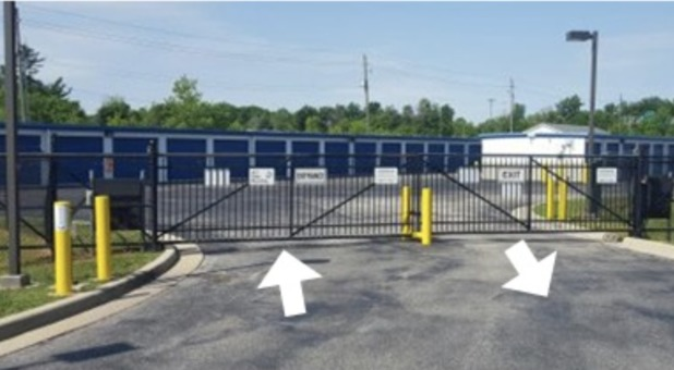 Fenced and gated with personalized gate codes