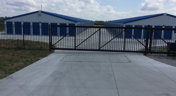 Storage Express Paris Facility Secure Gates