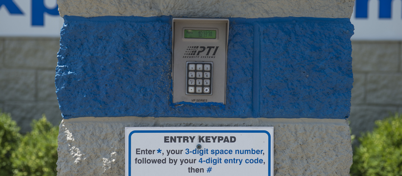 personalized gate codes
