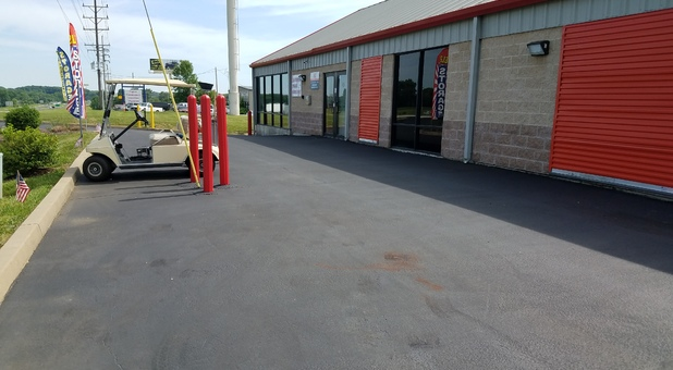 Self Storage Moving Truck; Hampel Road Storage Facility Located In Moscow  Mills, MO; Climate Controlled Storage Units ...
