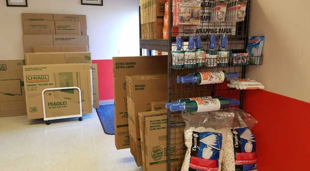 Moving Supplies Available at Hampel Road Storage