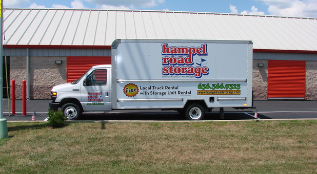 Local Free Truck Rental at Hampel Road Storage in Moscow Mills, MO