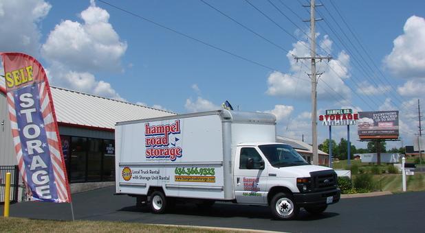 Self Storage Moving Truck