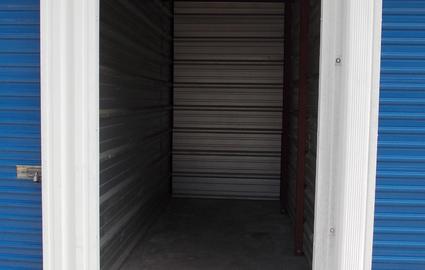 inshide of a storage unit