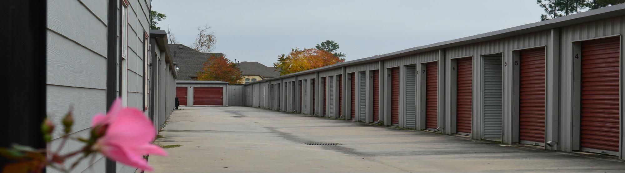 Drive Up Access Storage units