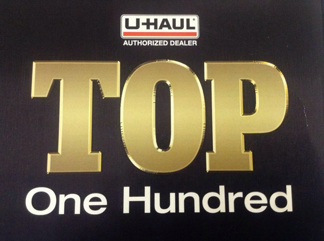Uhaul Top 100 Authorized Dealers