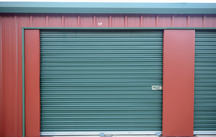 Green Storage Doors