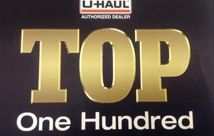 Uhaul Top 100