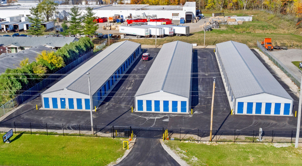 Clean and Gated Self Storage