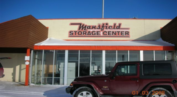 Mansfield Storage Center outside building