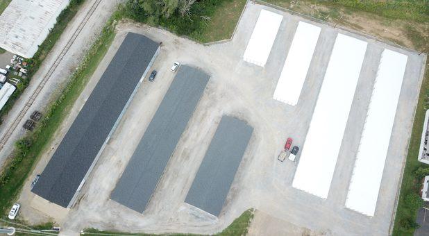 Martindale self storage aerial footage