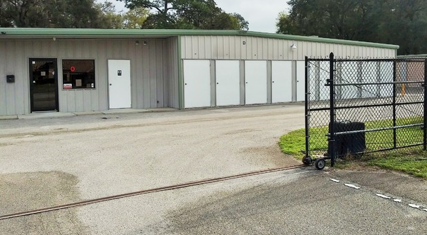 storage facility gate