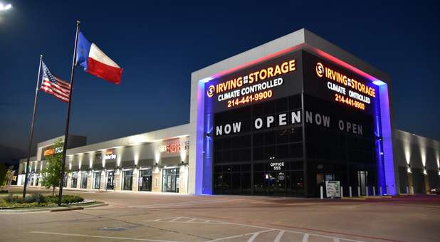 Irving Storage Facade