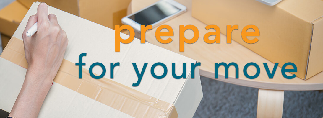 Preparing for your move at Beyond Self Storage