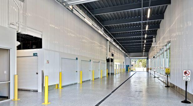 Beyond Self Storage at Port Richey Drive Aisle