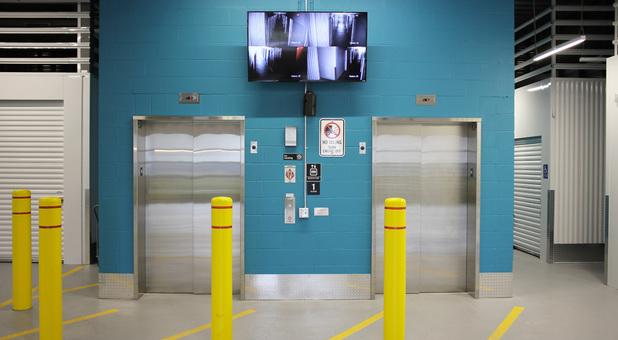 Beyond Self Storage at Maplewood Elevator Access